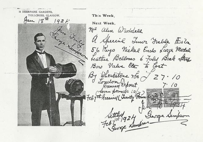 George Simpson Concertina