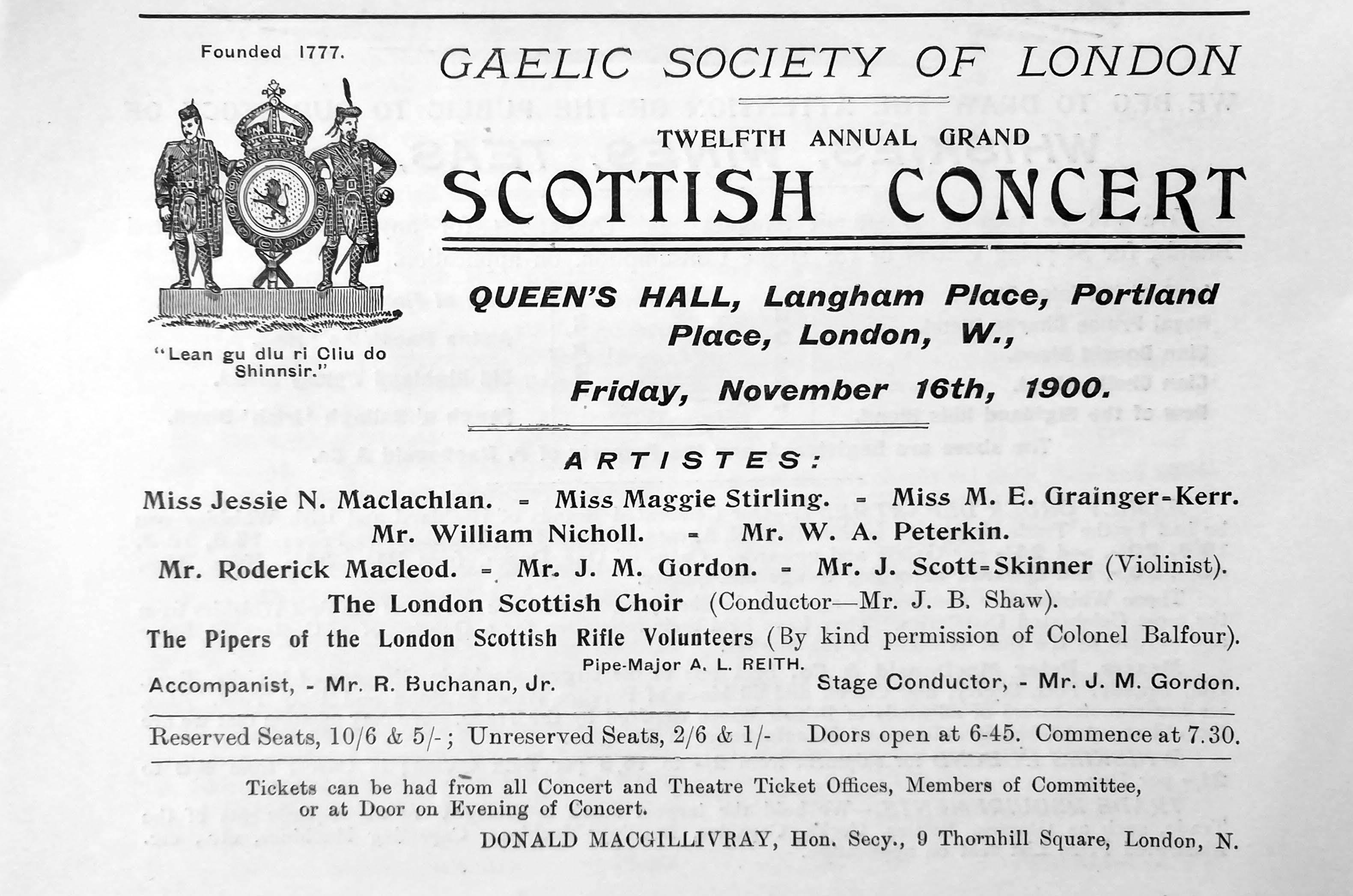 Jessie Gaelic Society